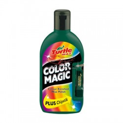 Autovosk Turtle Wax Color Magic Plus - Zelený 500ml