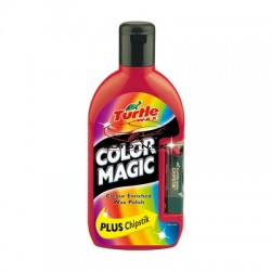 Autovosk Turtle Wax Color Magic Plus - Bledo červená 500ml