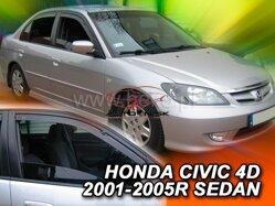 Deflektory - Honda Civic, Sedan 2000r.- 2005r.