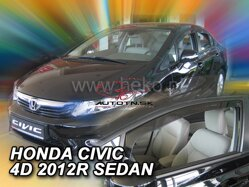 Deflektory - Honda Civic, Sedan od r.2012