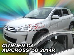 Deflektory - Citroen C4 Air Cross, od r.2012