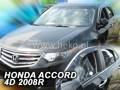 Deflektory - Honda Accord, Sedan od r.2008 (+zadné)